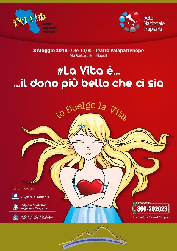 8 Maggio 2018  ore 10:00  Teatro Palapartenope