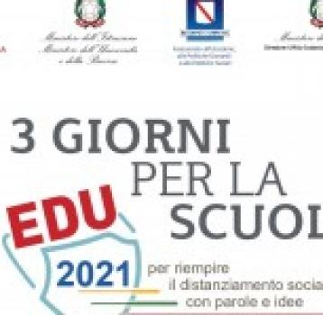"""""""3 Giorni per la Scuola 2020″"""